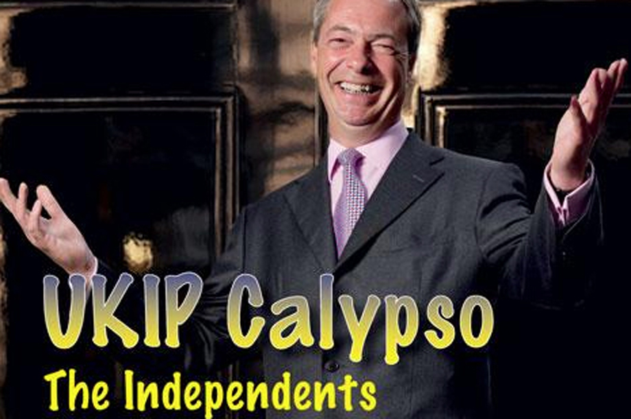 Ukip Calypso; the single from which the British Red Cross refused to accept proceeds