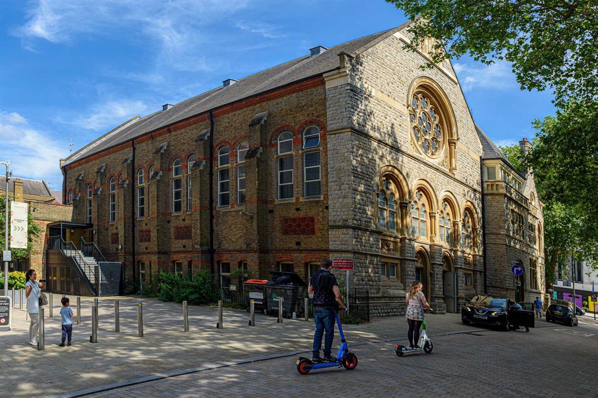 Victoria Hall (Photograph: Roger Green)