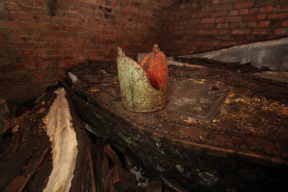 Four coffins of archbishops were found (Photograph: Craig Dick)