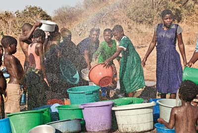 WaterAid project in Malawi
