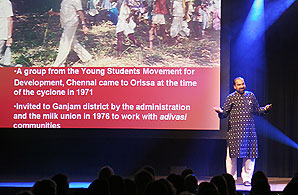 Dr Joe Madiath speaks at the International Fundraising Conference
