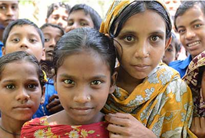 The public can donate to a scheme in Bangladesh