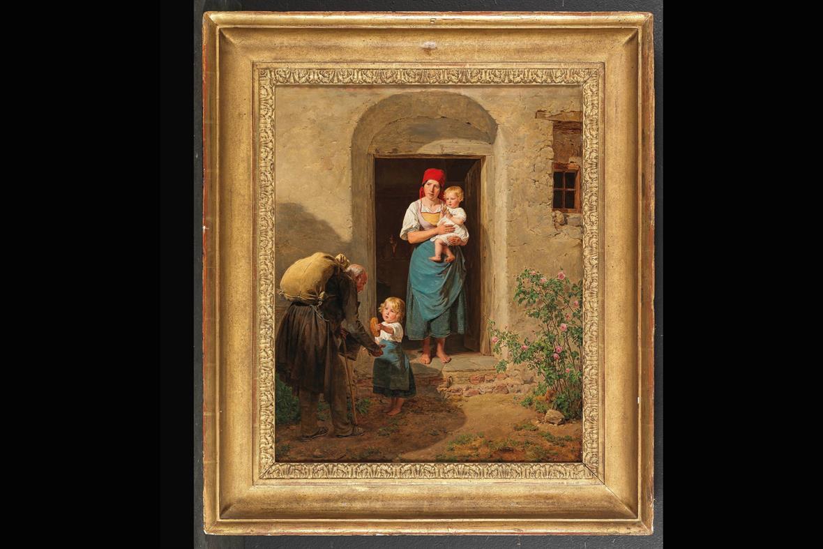 The Beggar (Photograph: The Dorotheum)