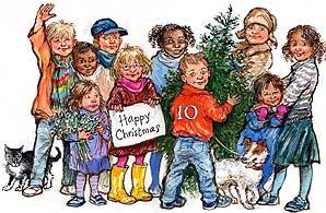 Gordon Brown's Christmas card