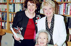 Edwina Currie (left) and Gloria Hunniford