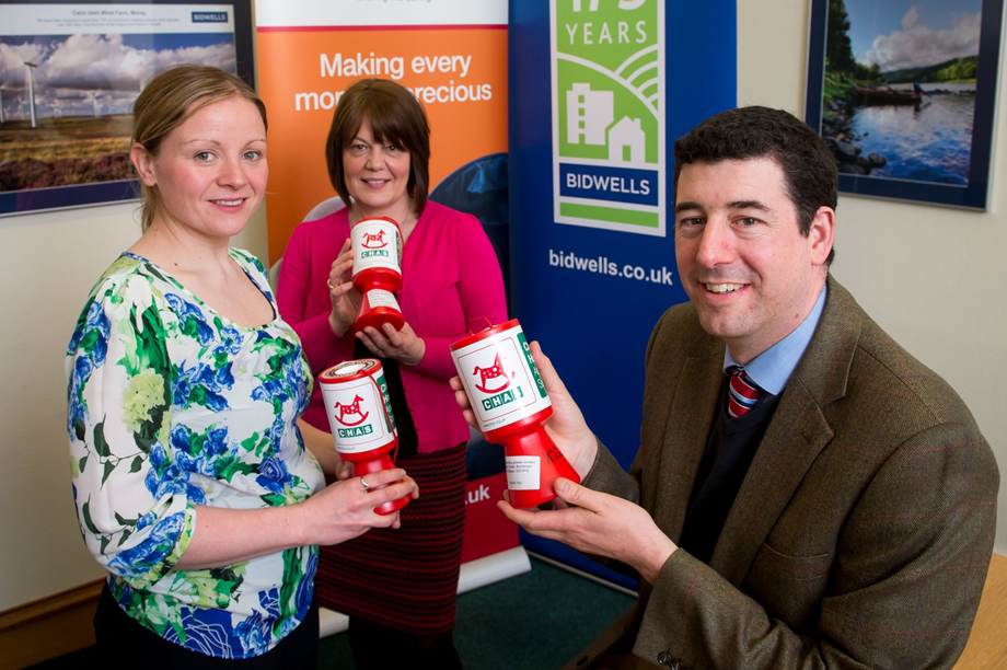 Chas fundraisers meet staff from Bidwells