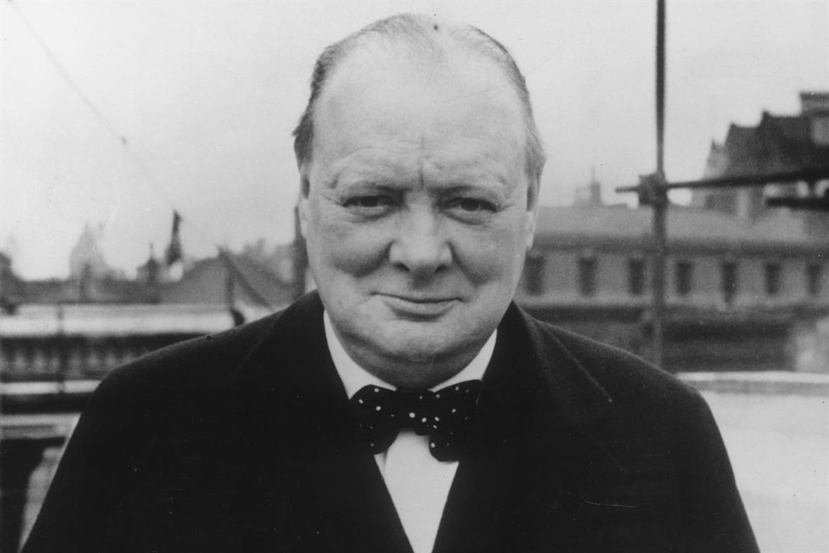 Sir Winston Churchill in 1939 (Photograph: Evening Standard/Getty Images)