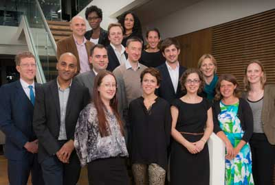 The new Clore Social Leadership Programme fellows