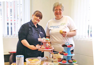 Tea parties were hosted to raise awareness of Alzheimer's