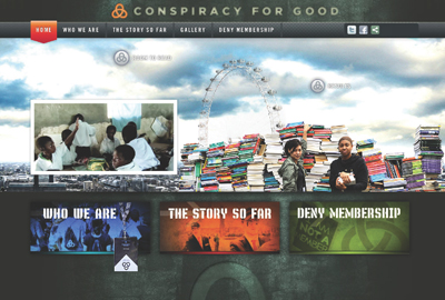 Conspiracy for Good was a game that people could play both online and in real life