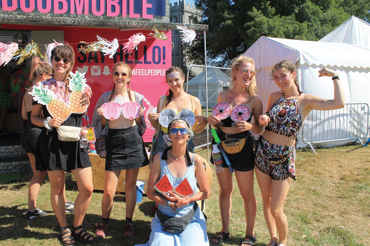 CoppaFeel! reaches out to young women at festivals