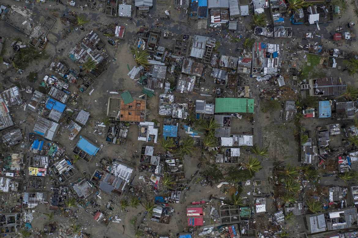 Cyclone Idai killed at least 750 people in east Africa (Photograph: Josh Estey/Care International)