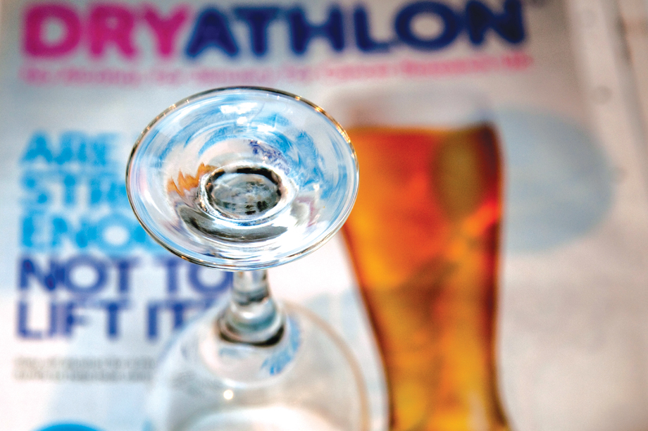 Cancer Research UK's Dryathlon campaign