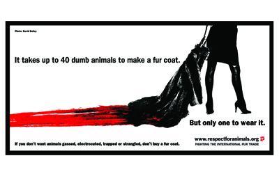 Lynx's Dumb Animals campaign changed public attitudes towards fur