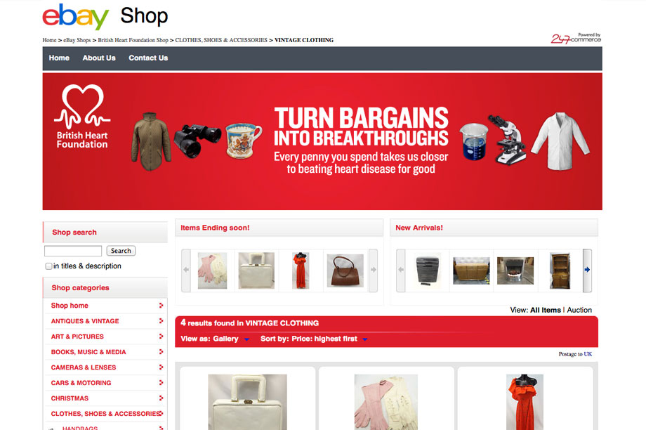 The Future Of Fundraising Part Ii How Ebay Has Changed The Game For Charitable Retail Third Sector