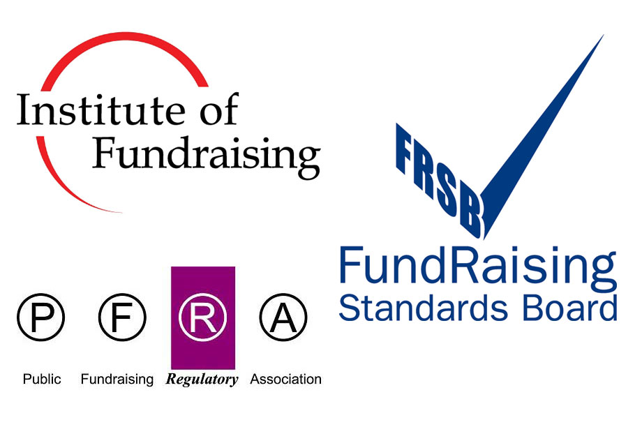 The three fundraising bodies