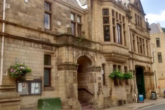 Hebden Bridge Town Hall, a community-owned asset