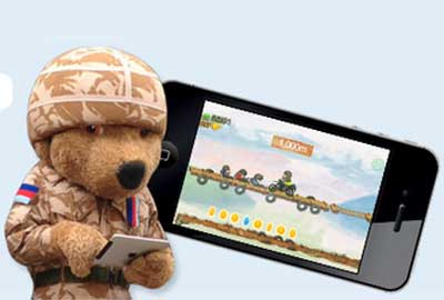 Help for Heroes' new fundraising app
