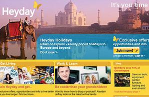 Heyday's homepage