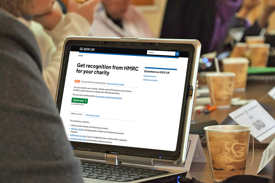 HMRC has launched an online registration service