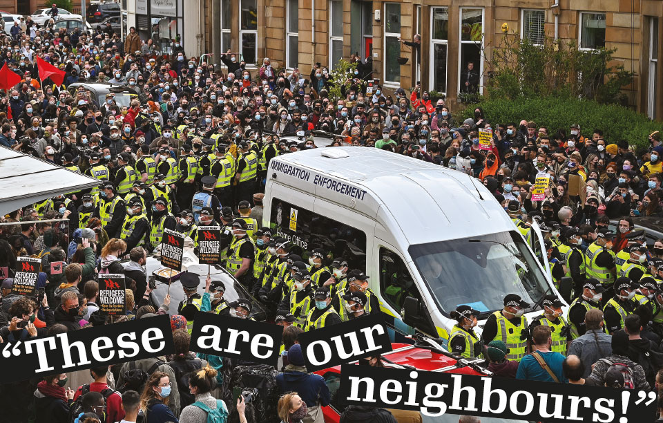 The Kenmure Street protest was a major display of civic defiance