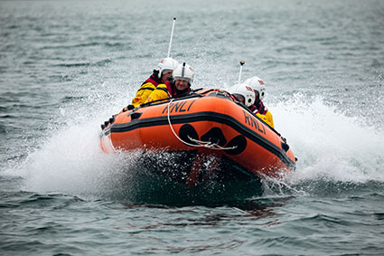 RNLI-D class lifeboat (Photograph: RNLI/Nathan Williams)