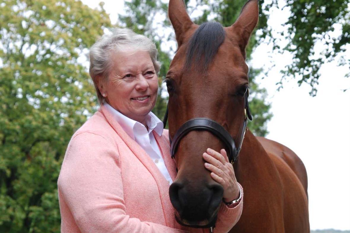 Lynn Peterson, with Teddy