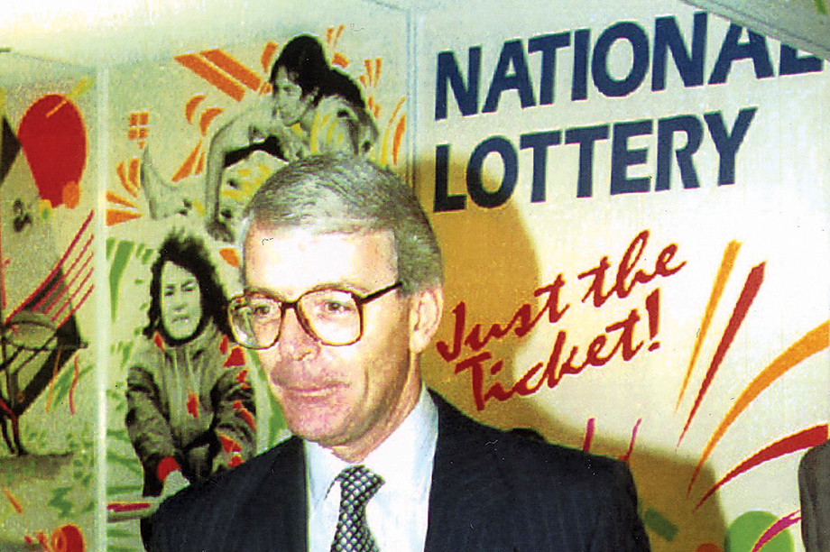 John Major: father of the lottery