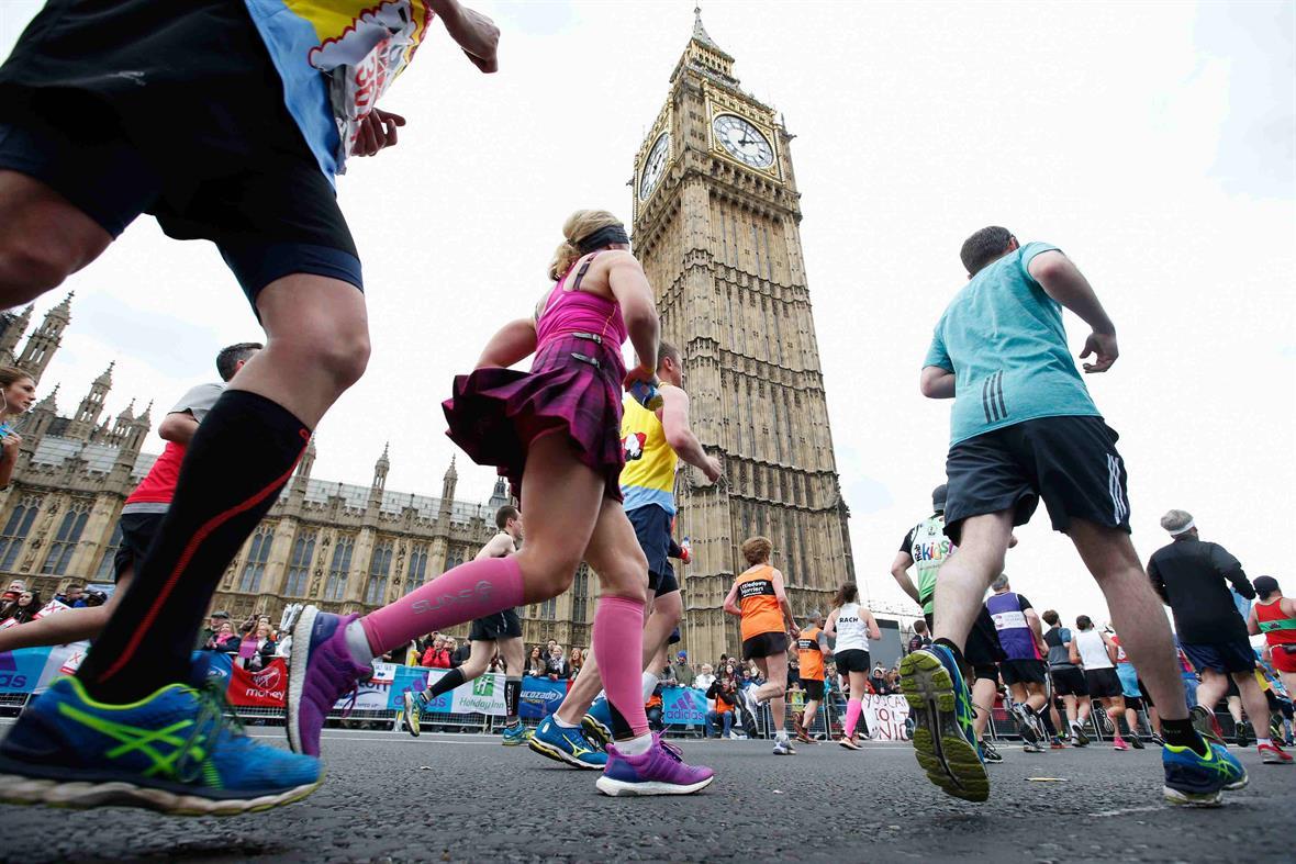 The London Marathon (Photograph: Joel Ford/Getty Images)