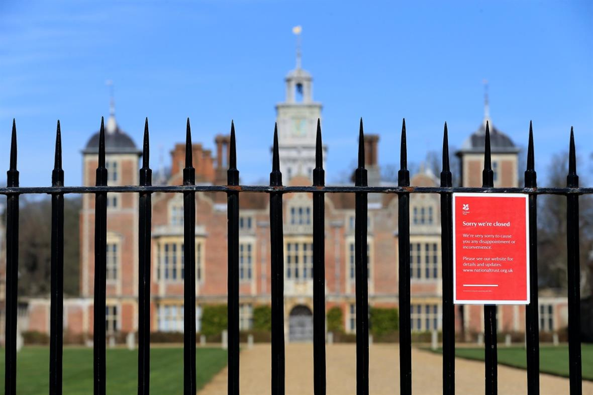 The trust's Blickling Hall, near Norwich (Photograph: Stephen Pond/Getty Images)