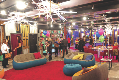 The Big Brother house was controversially included in the London Project open days