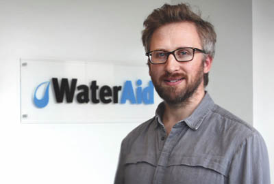 Neil Wissink says Instagram is an important medium for Water Aid