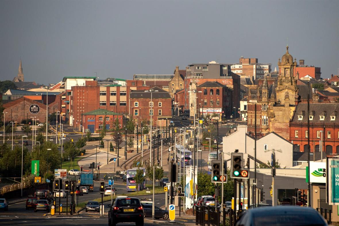 Oldham town centre (Photograph: Anthony Devlin/Getty Images)