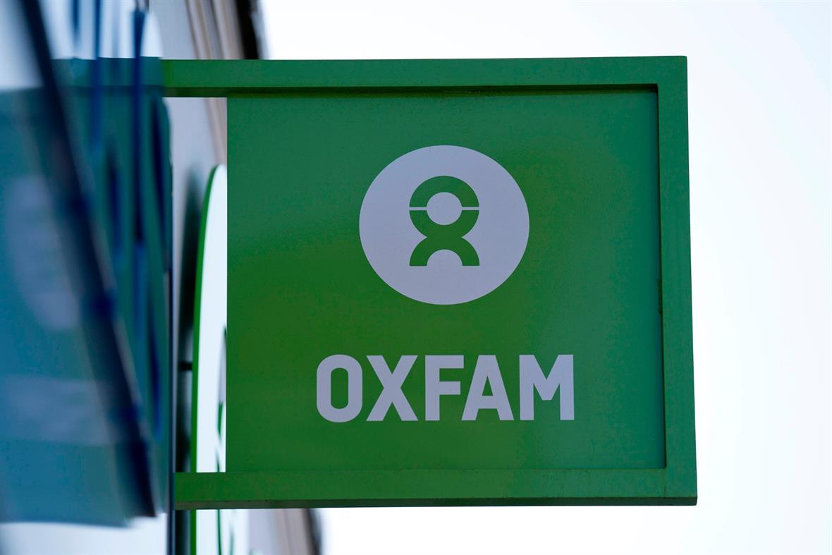 An Oxfam store (Photograph: Justin Tallis/AFP via Getty Images)
