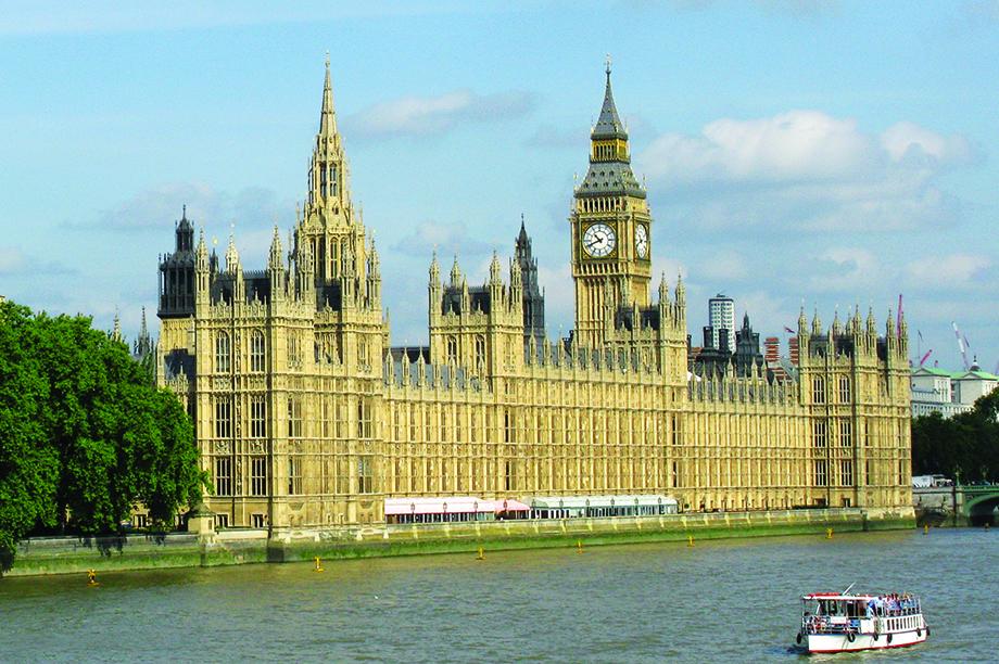 Houses of Parliament: bill en route