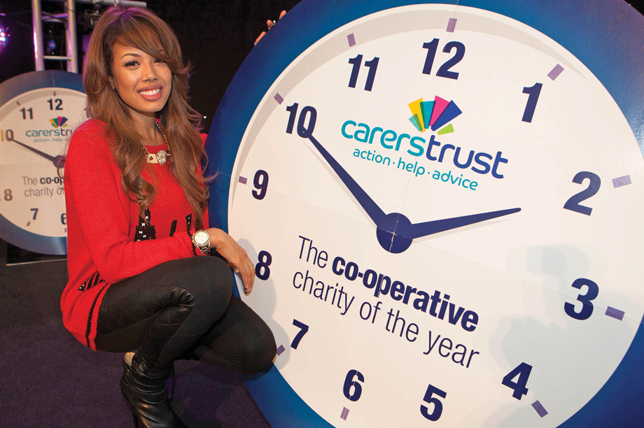 Carers Trust was the Co-operative Group's charity of the year in 2013