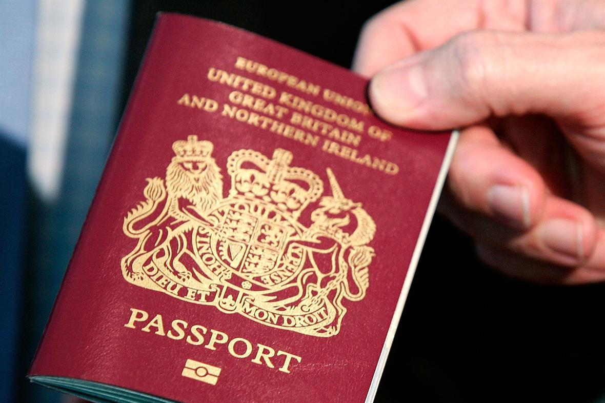 Passport (Photograph: Alex Wong/Getty Images)