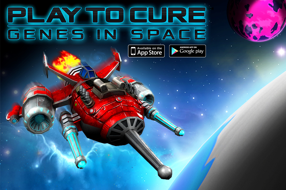 Play to Cure: Genes in Space is one of the games created by Cancer Research UK