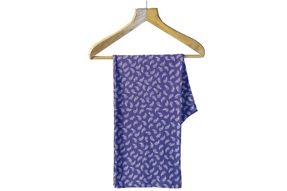 Paisley pyjamas, similar to those worn by...