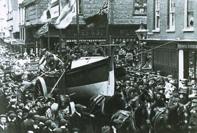Lifeboat day in Salisbury, 1907