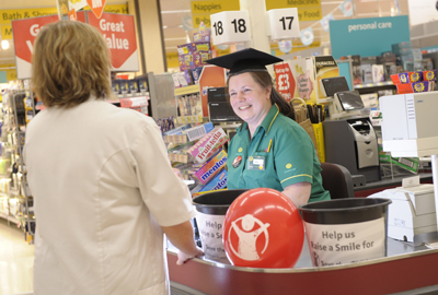 Morrisons have partnered with children's charity Save The Children