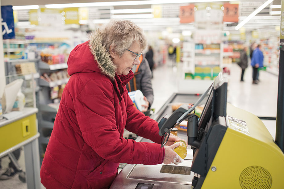 Self-service checkouts: 1p levy per transaction proposed (Photograph: SolStock/Getty Images)