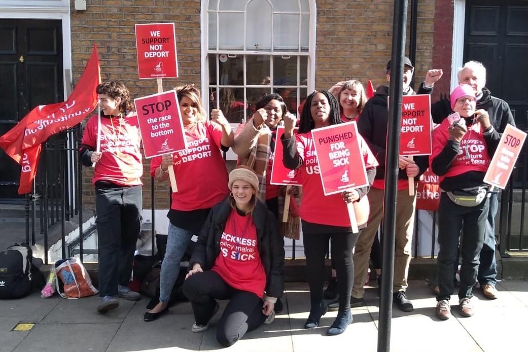 St Mungo's staff in London
