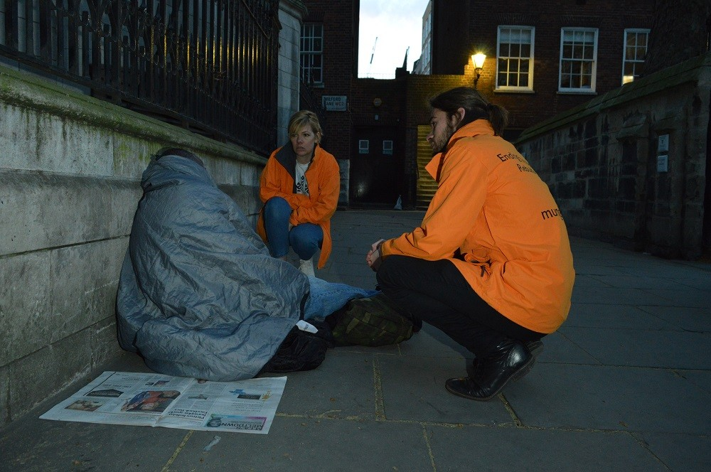 St Mungo's works with homeless people