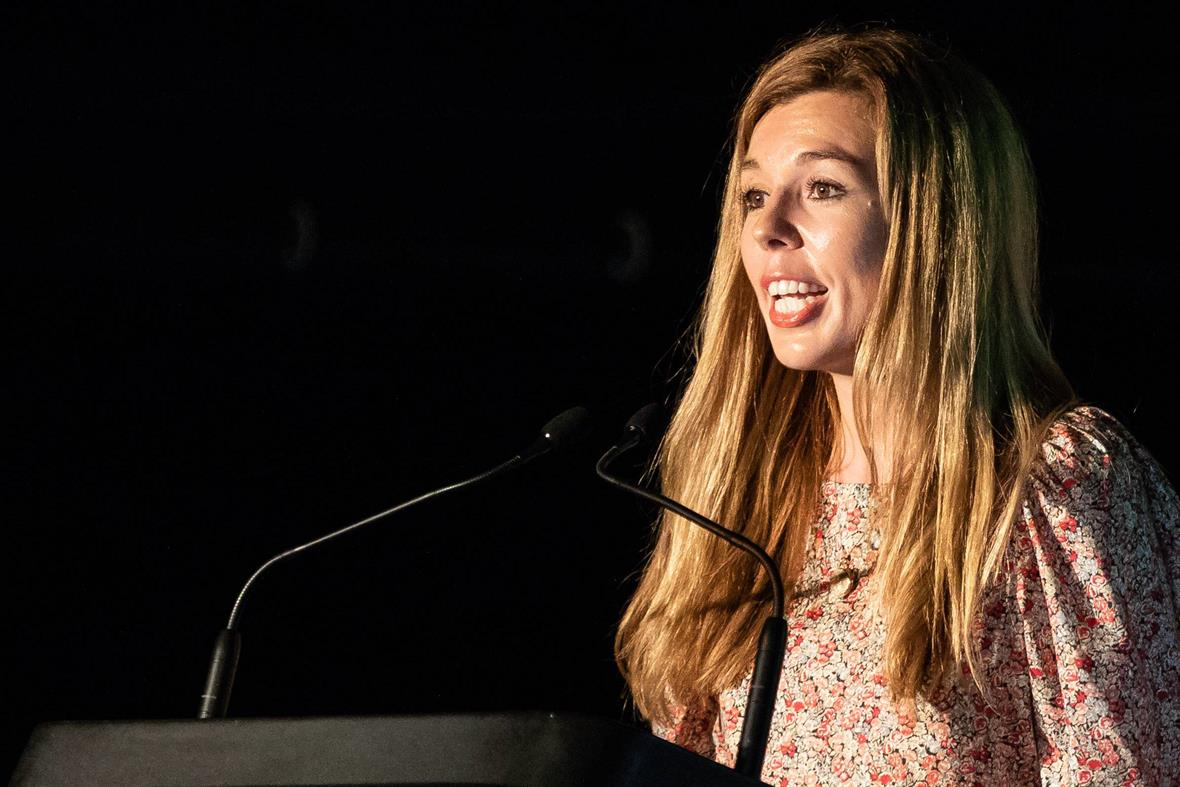 Carrie Symonds at a conference in 2019 (Photograph: Getty Images)