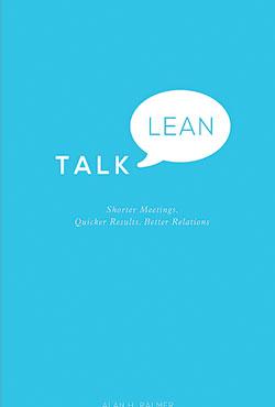 Talk Lean, by Alan Palmer