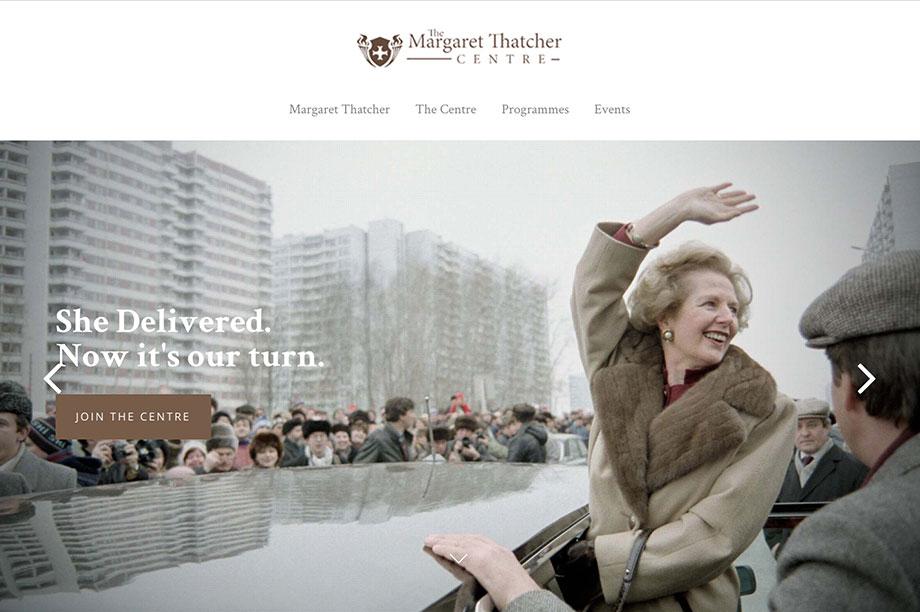 Charity plans a Thatcher centre