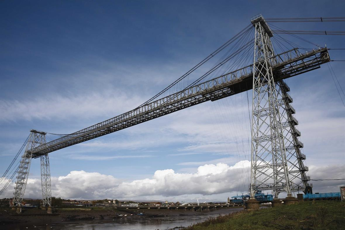 Newport Transporter Bridge in south Wales, the recipient of a £8.8m NLHF grant (Photograph: MyLoupe/Universal Images Group/Getty Images)