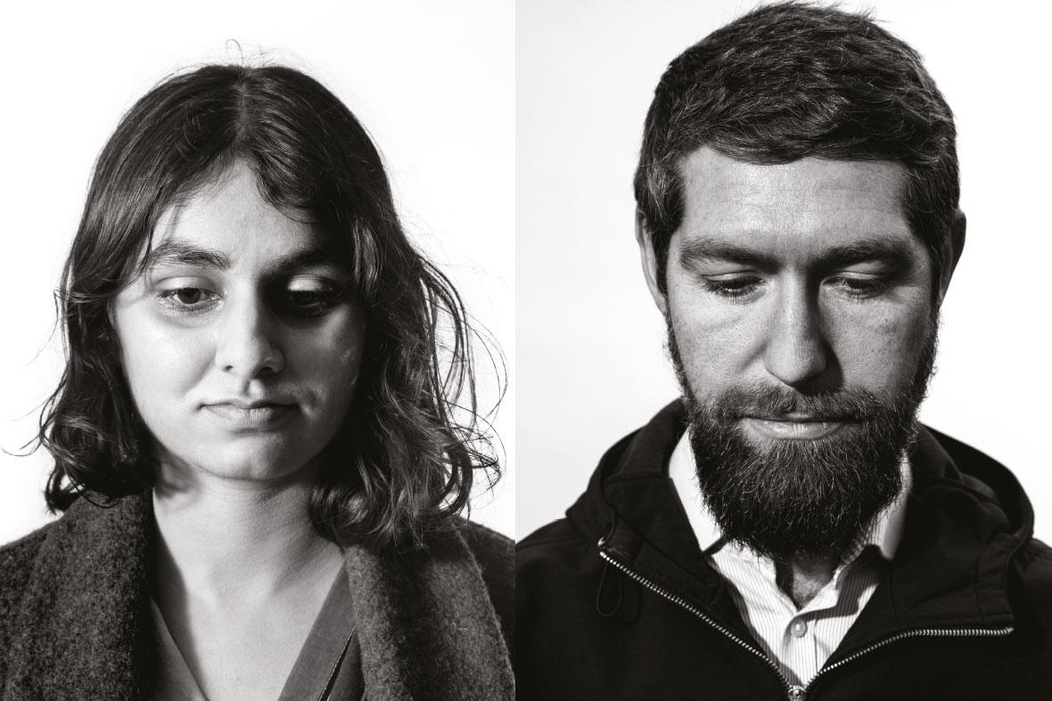 Priya Changela and Dan Jones. Portraits by Colin Stout