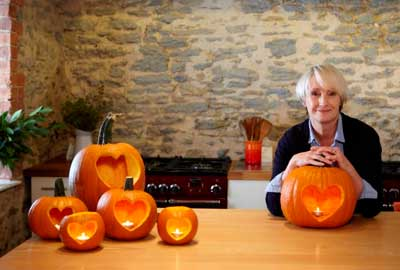 TV chef Lesley Waters
